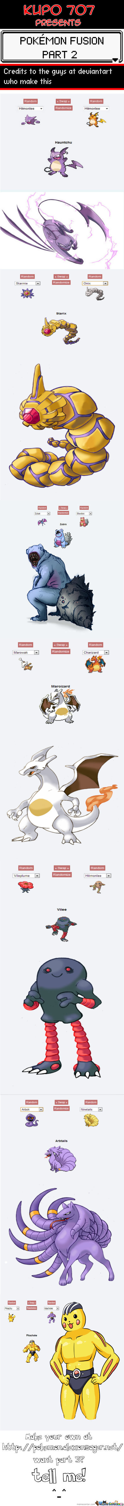 Best Of Pokémon Fusion : Part 2