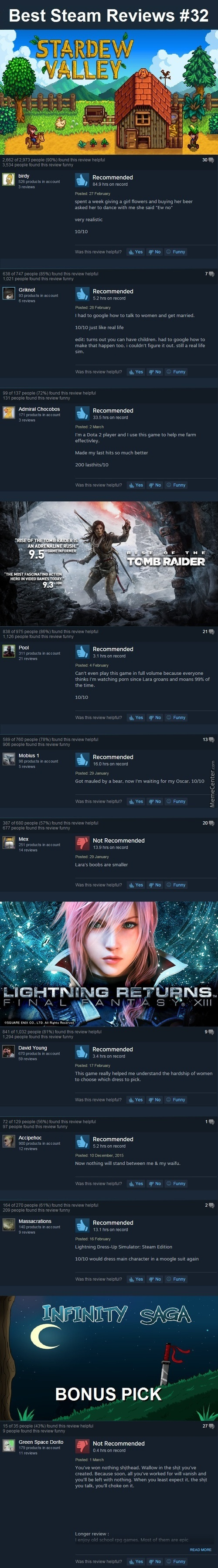 Best Steam Reviews #32 - The Arcticfox Bandwagon