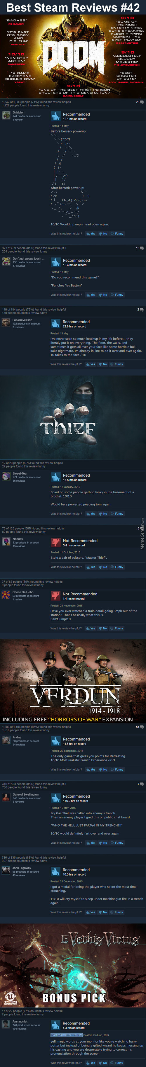 Best Steam Reviews #42 - Yer A Wizard 'arry