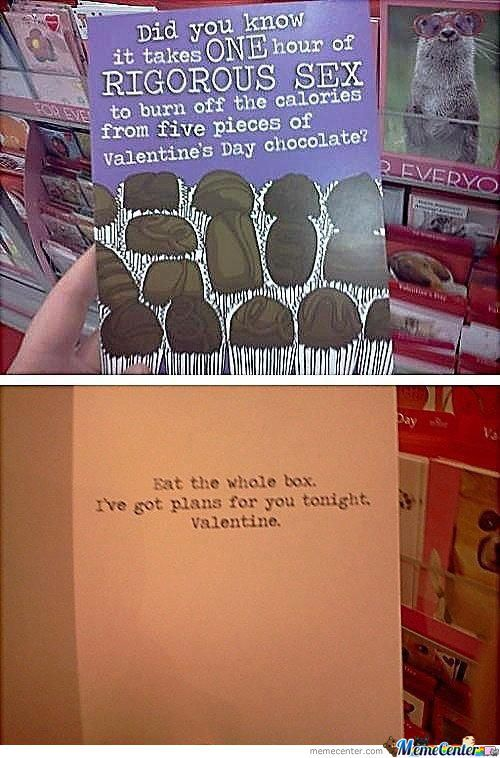 Best Valentines Day Card Evar!