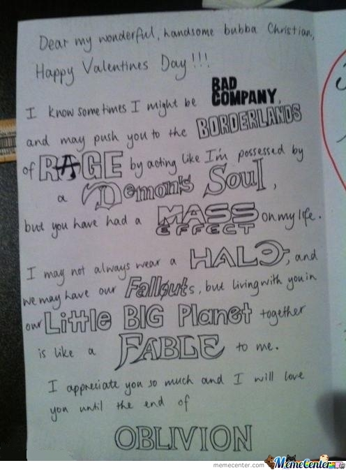Best Valentine's Day Card Ever!