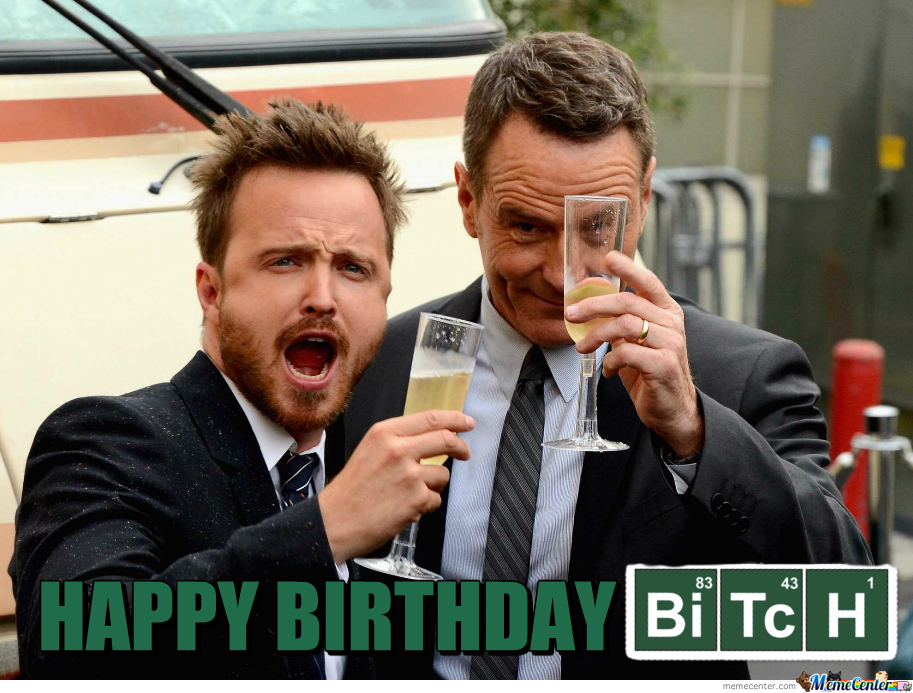 Best Wishes To Aaron Paul.