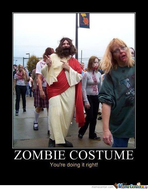 Best Zombie Costume Ever