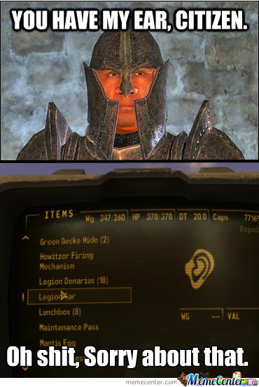 Bethesda Has An Issue With Ears.