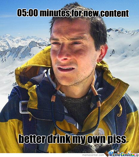 Better Drink My Own Piss