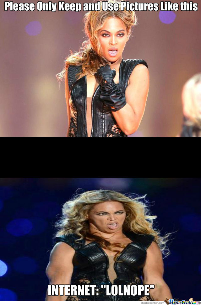 Beyonce Goes Fully Derp