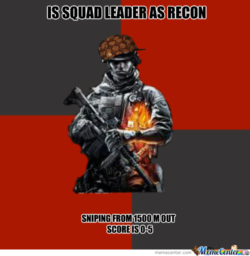 Bf3 Hardcore Squad Leader Everytime