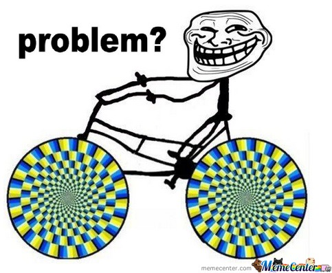 Bicycle Troll