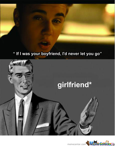 Bieber, Y U No Admit You're A Girl