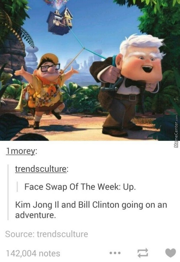 Bill Clinton And Kim Jong Il (⊙︿⊙) by l.lawliet - Meme Center