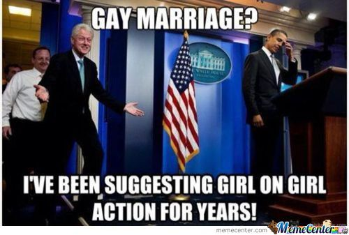 Bill Clinton Being Bill Clinton.