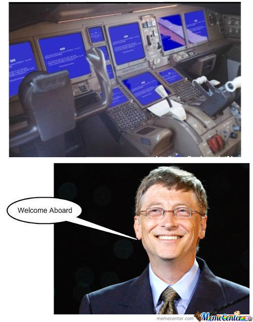 Bill Gates Strikes
