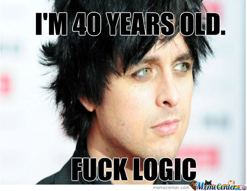Billie Joe Armstrong Is Seriously Fourty