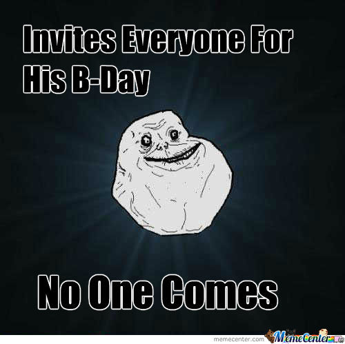 Birthday Alone