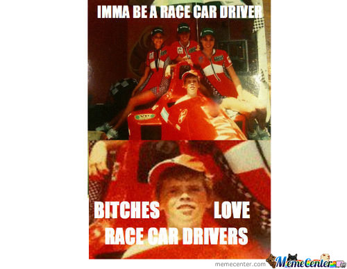Bitches Love Race Car Drivers