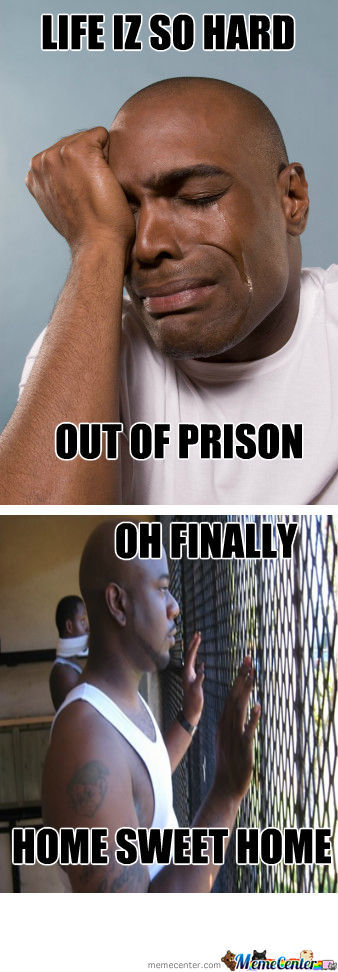 Black Mans Attitude Towards Prison