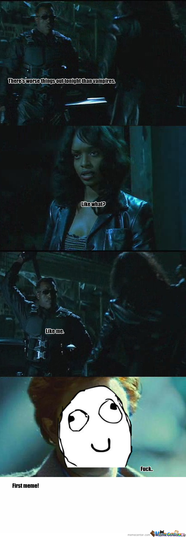 Blade Is A Badass!