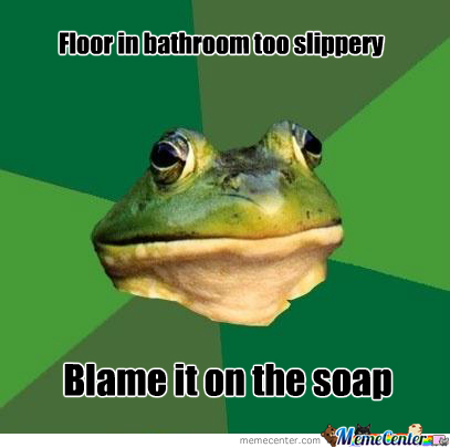 Blame It On The Soap
