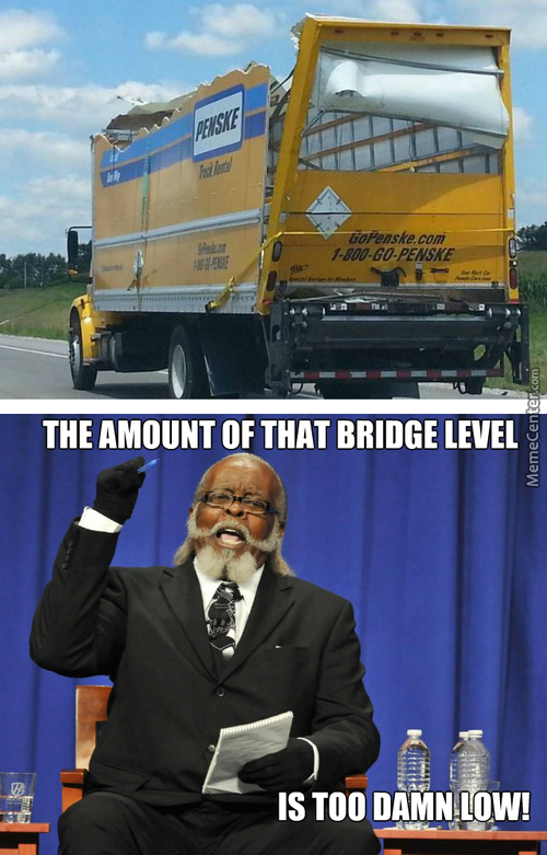Blame The Bridge, Not The Driver