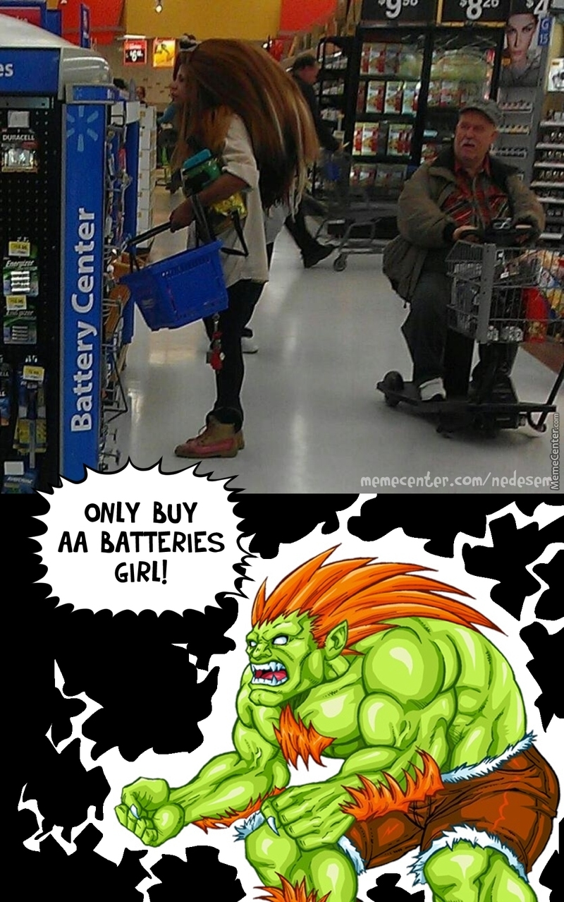 Blanka's Daughter Shopping