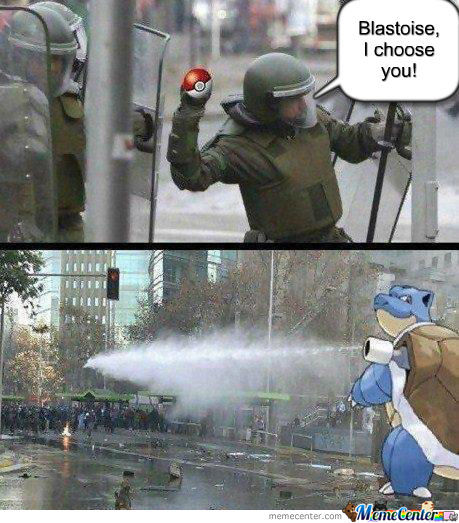 Blastoise, I Choose You!