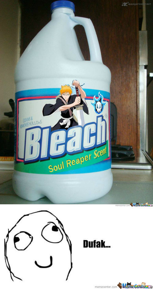 Bleach Cleans All