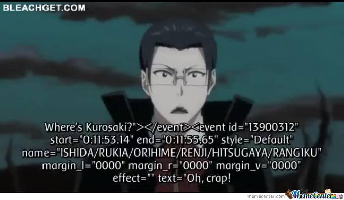 Bleach Translate Fail