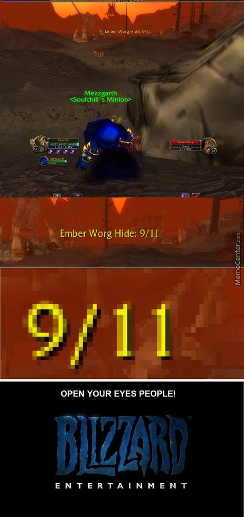 Blizzard Did 9/11 Kappa