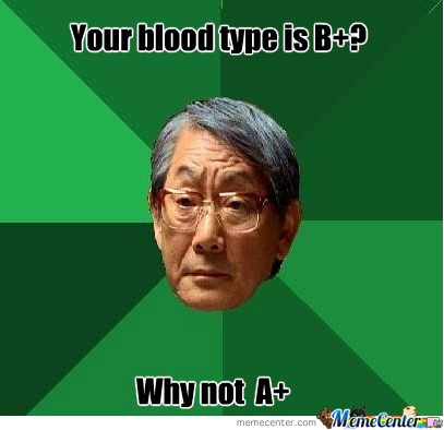 Blood Type Why Not A+