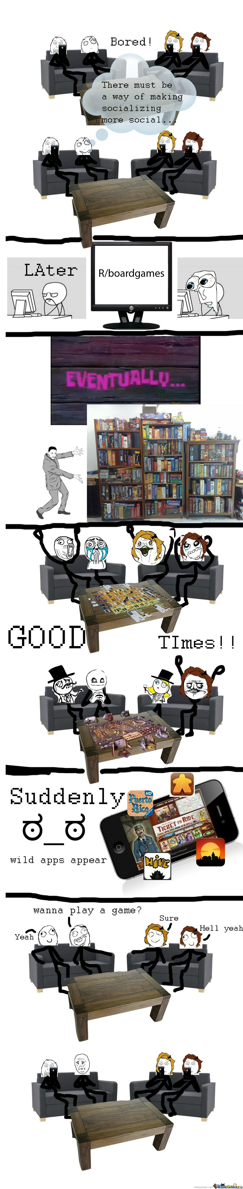 Board Game Rage!