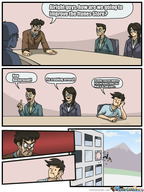 Boardroom Suggestion Itunes Store Improvement