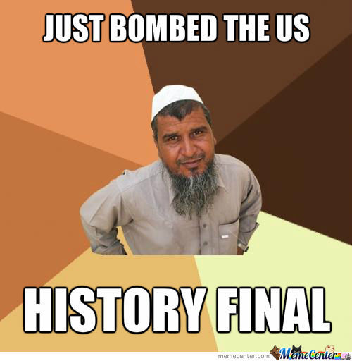 Bombed Us!history Final...