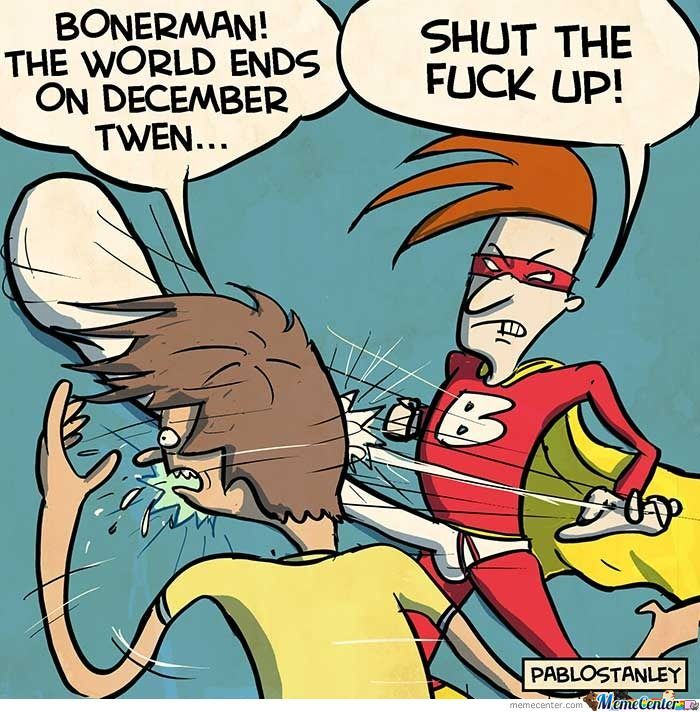 Bonerman: December 21St