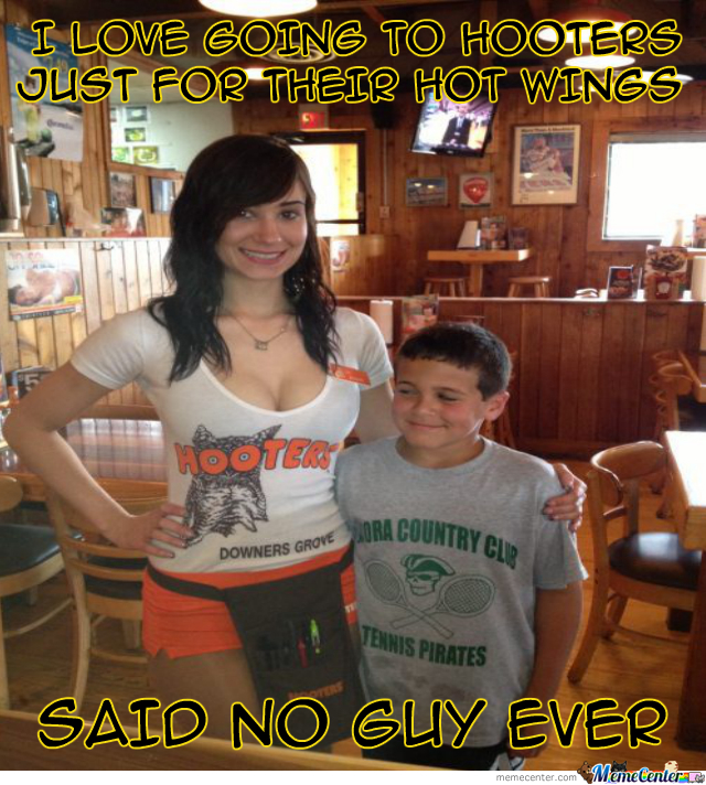 Boobs And Hot Wings Are A Winning Pair
