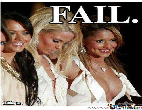 Boobs Fail