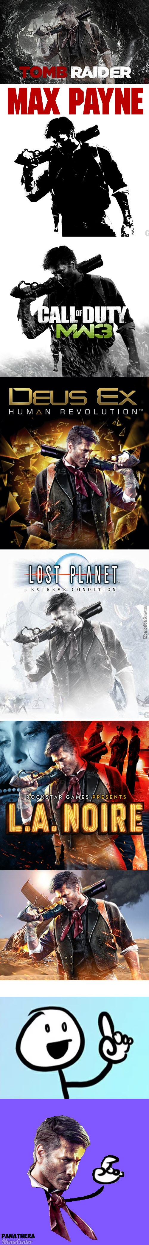 Booker Is So Generic Looking He Fits On Any Game Cover