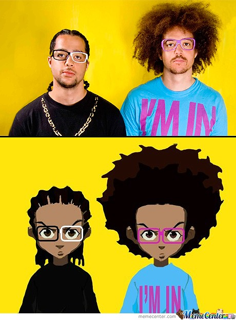 Boondocks As Lmfao