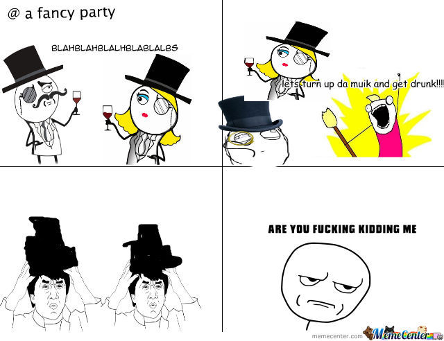 Boring Party