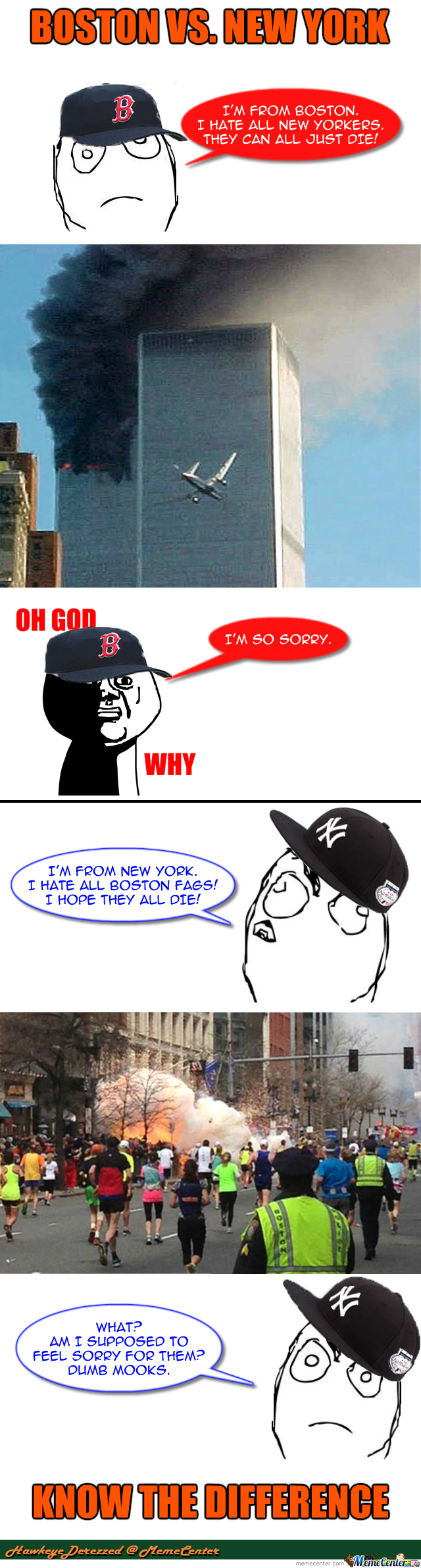 Boston Vs New York