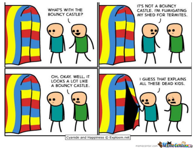 Bouncy House.... Of Death