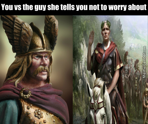 Bow Down To The Glory Of Rome Or Perish Beneath Its Shadow!