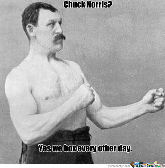 Boxing With Chuck Norris