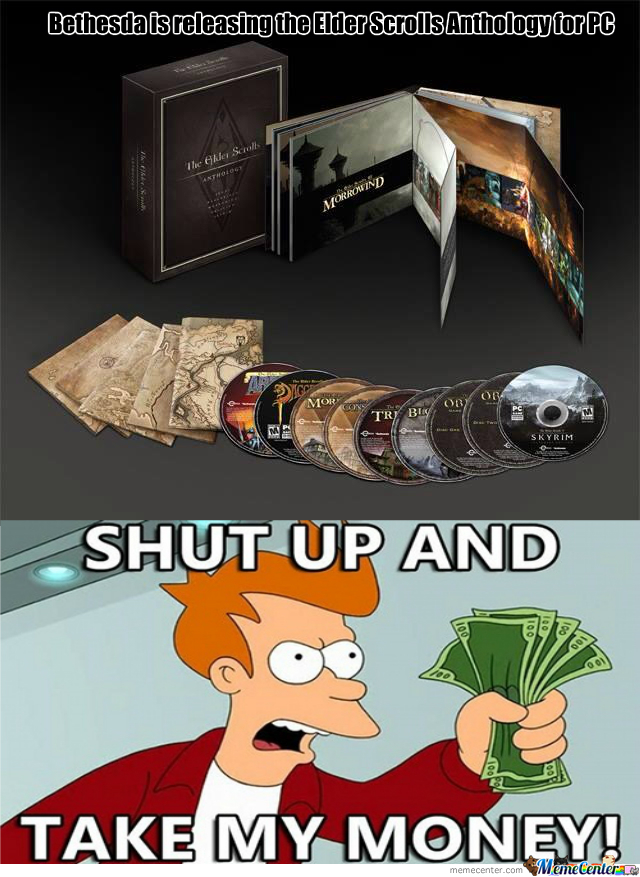 Brace Your Pc's, The Elder Scrolls Anthology Is Come!