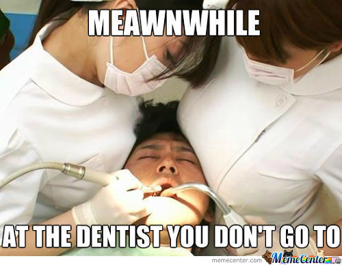Brace Yourself, Meanwhile At The Dentist You Do Go To Remix Is Coming