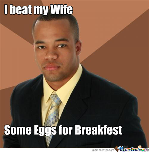 Breakfest Black Man