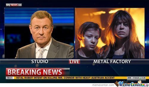 Breaking News: Metal Factory