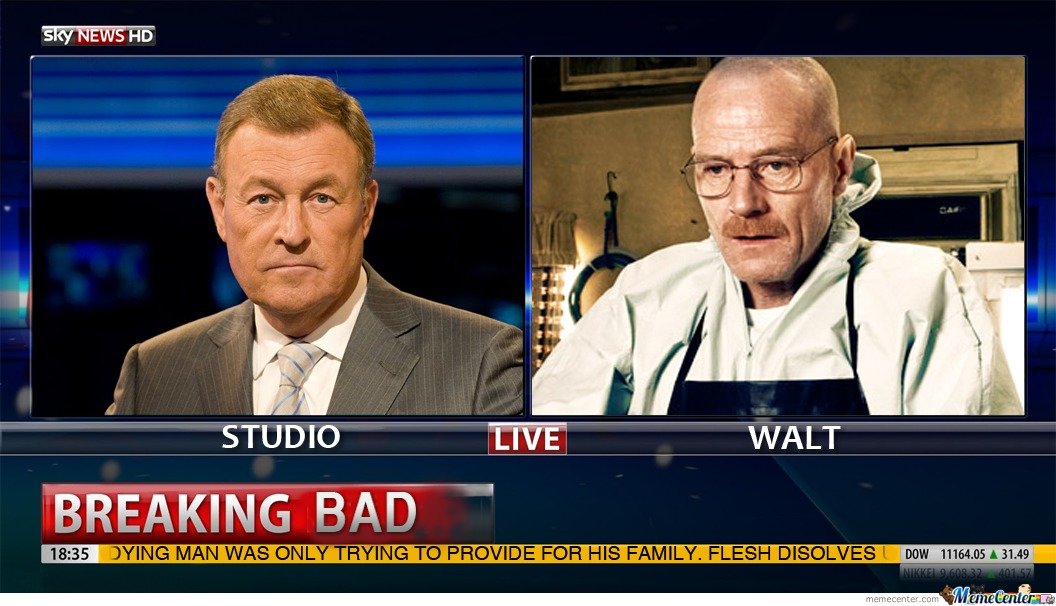 Breaking News: Walt