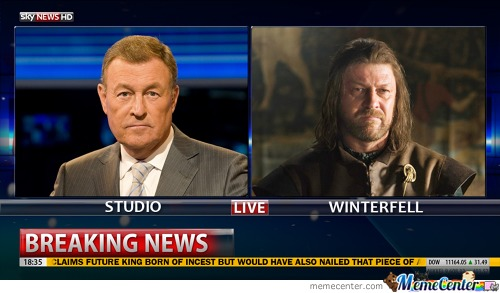 Breaking News: Winterfell