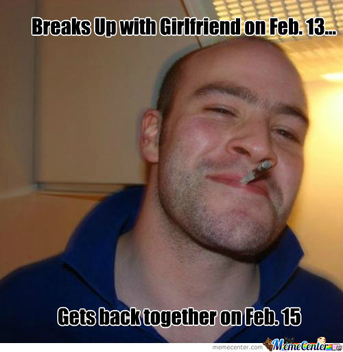 Breaks Up With Girlfriend