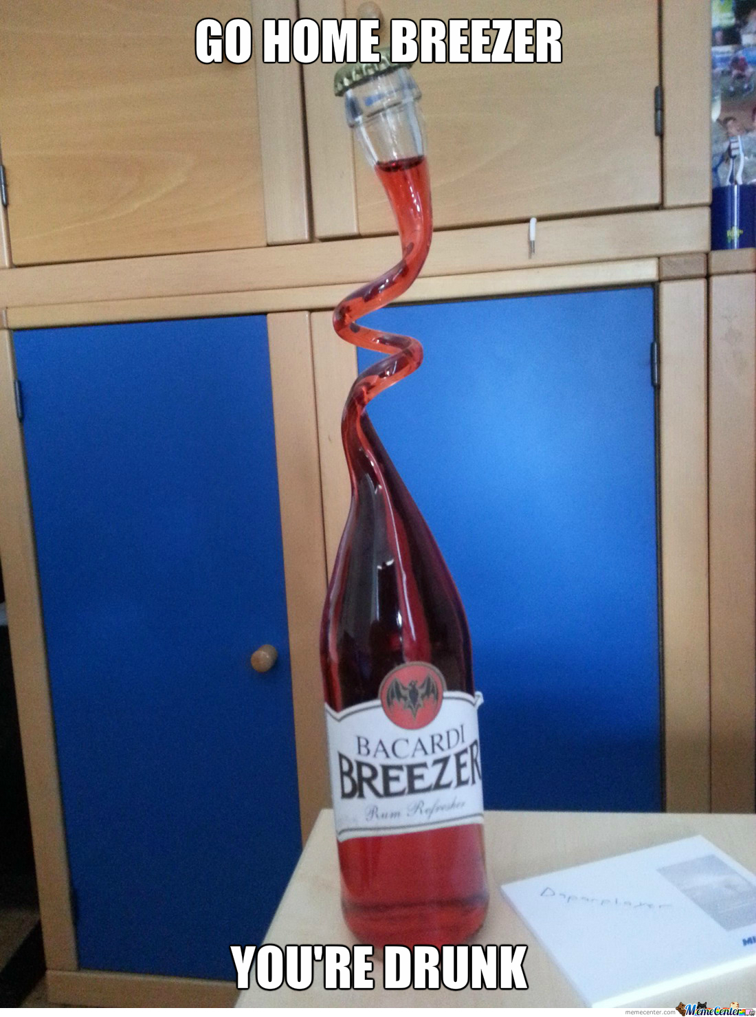 Breezer = Drunk?? What??